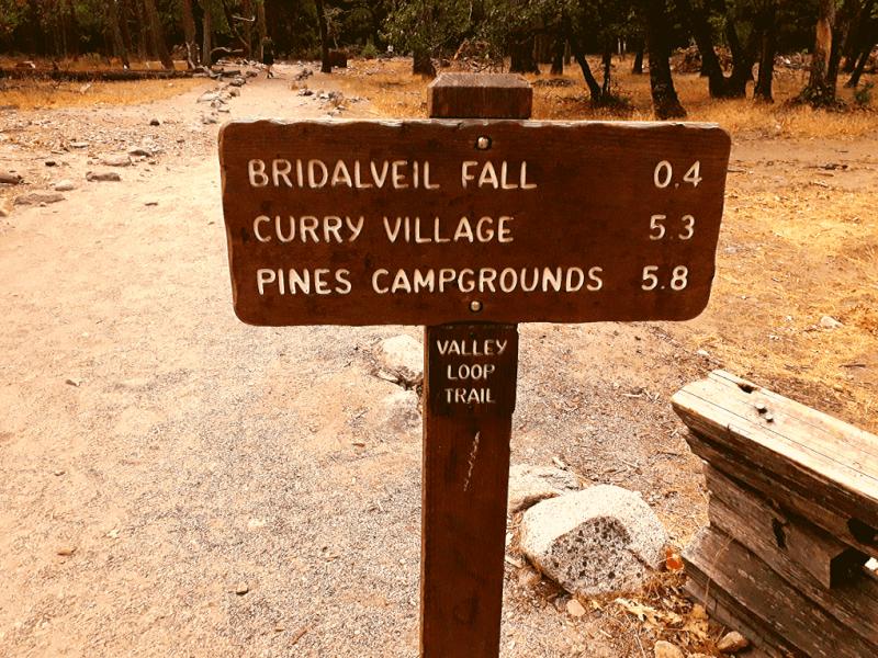 Bridalveil Fall Trail