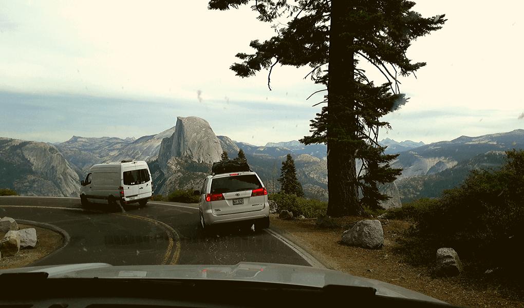 Glacier Point file Yosemite