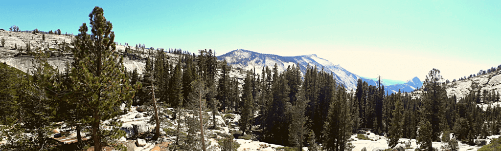 Olmsted Point panorama