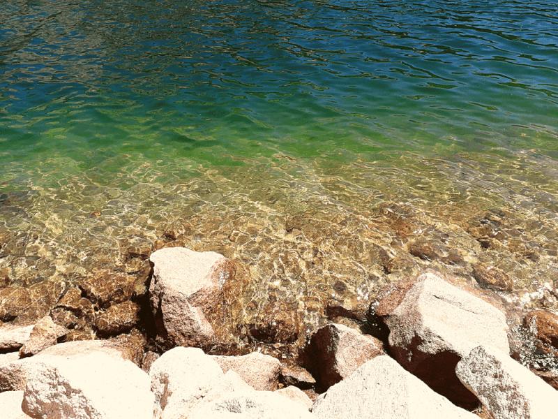 Water Tenaya Lake Tioga Road