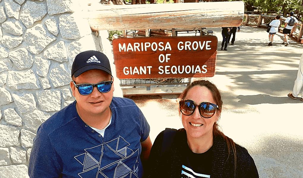 Entree Mariposa Grove Triplovers
