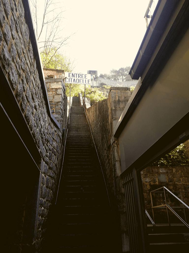 Citadel Dinant trappen