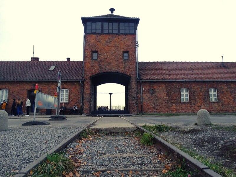 Ingang Birkenau