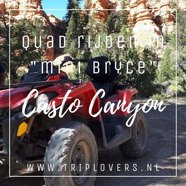 Quad rijden Casto Cantyon