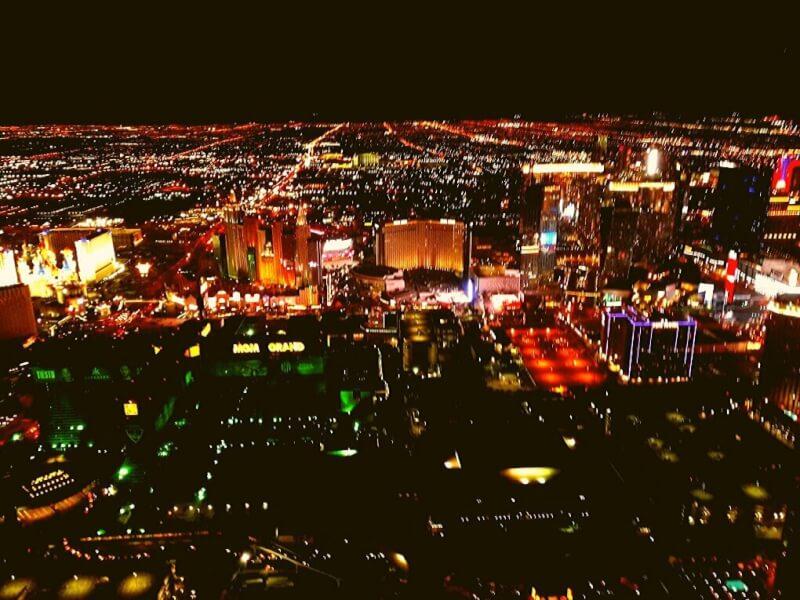 Helicoptervlucht Las Vegas