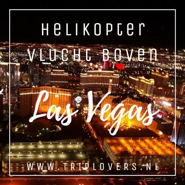 Helikopter vlucht Las Vegas blog