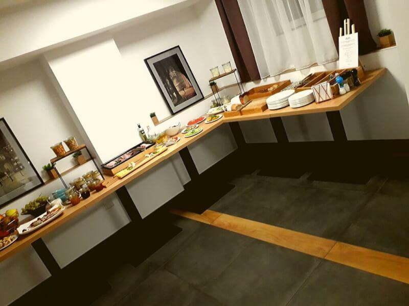 Onbijtbuffet Brassel Aparthotel