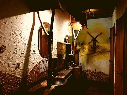 Toilet Pierogarnia restaurant