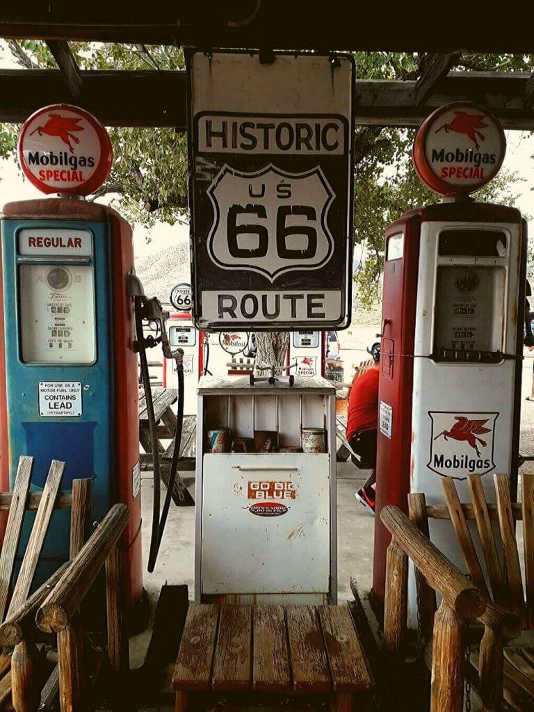 Hackberry benzinepompen