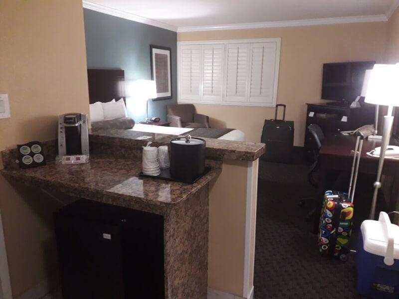 Hotelkamer Las Vegas