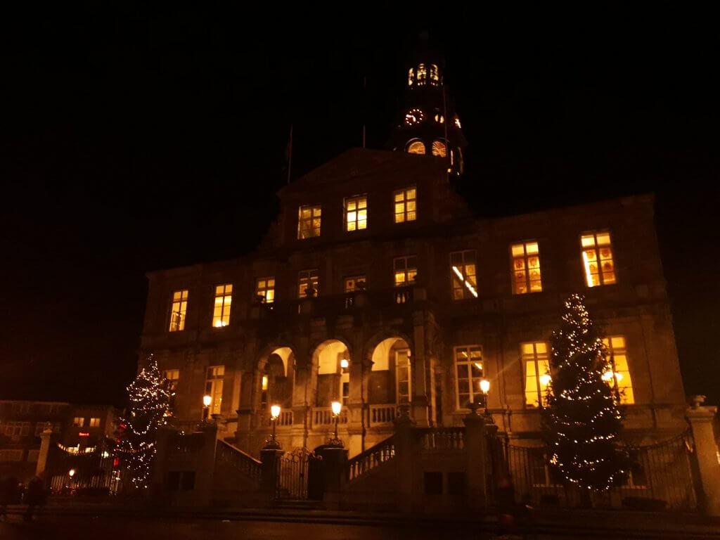 Stadhuis Magische Lichtroute Maastricht