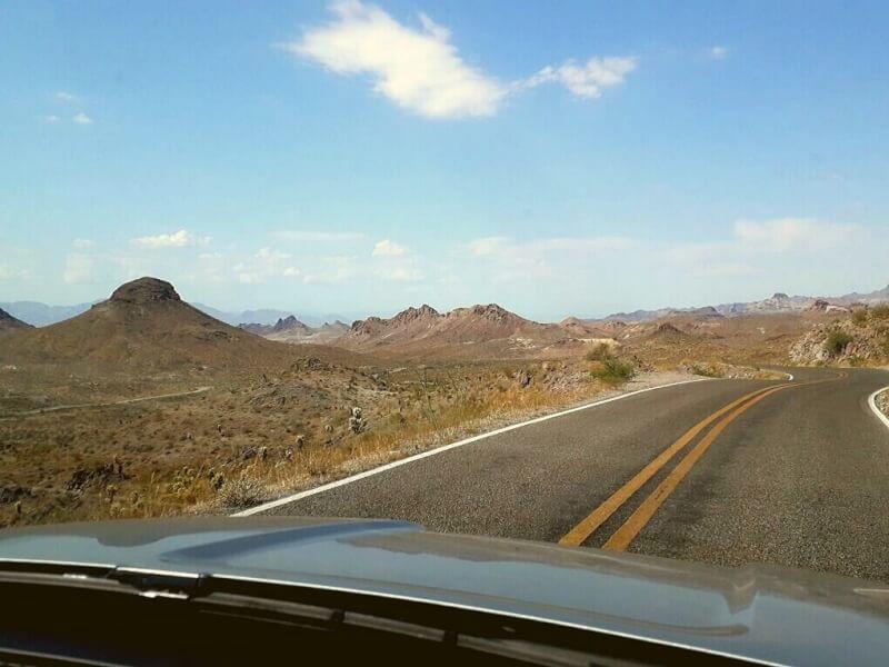 Route 66 uitzicht