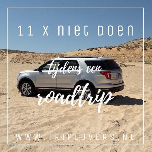 Blogfoto 11x niet doen tijdens een roadtrip