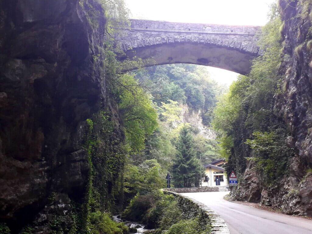 Brasa Schlucht nabij Riva