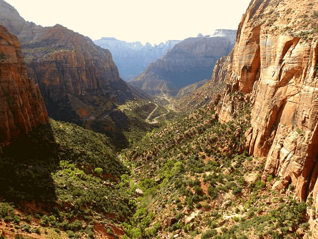 uitzicht hike Zion