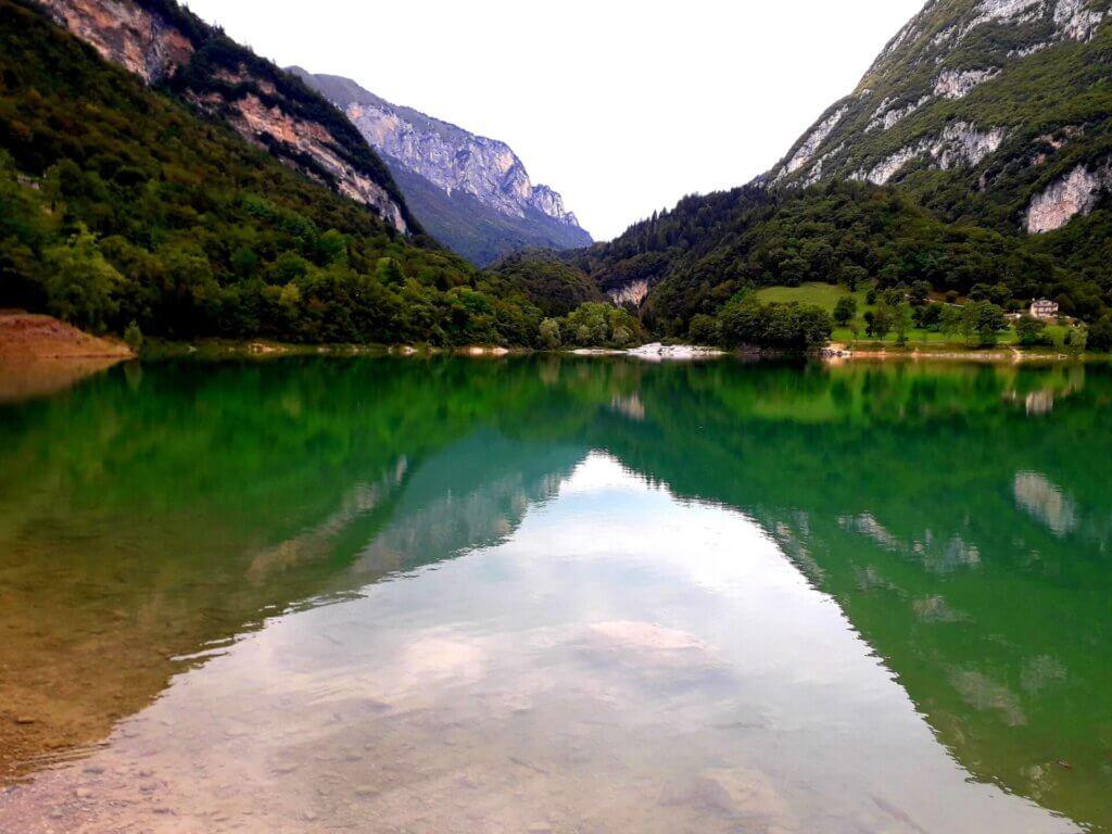 Het meer van Tenno nabij Riva