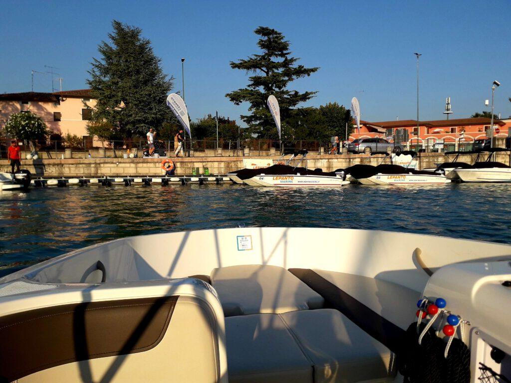 Lepanto Marine vaarroute Gardameer