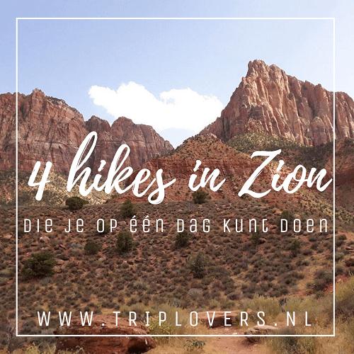 Blogfoto Hikes Zion