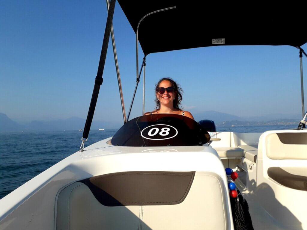 bootje varen Gardameer