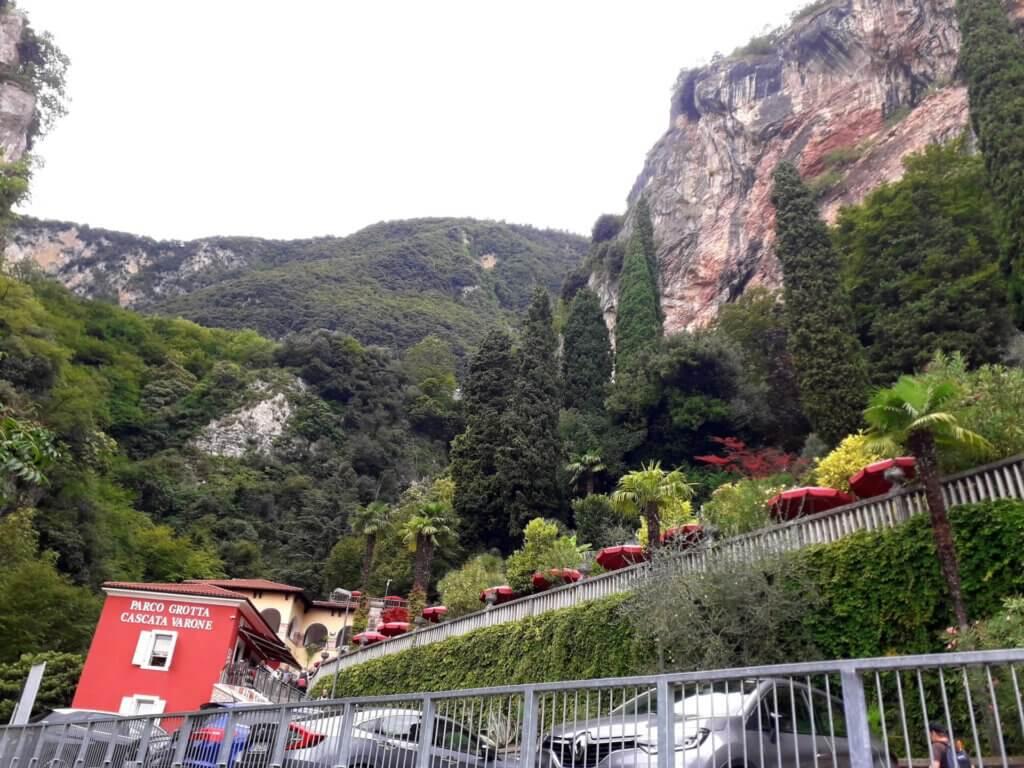 Entree Parco de Cascate de Varone bij Riva