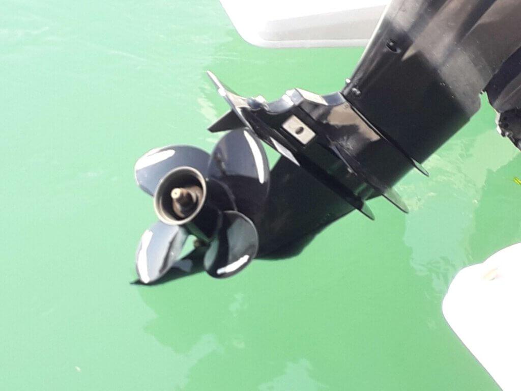 schroef van de boot, tip voor boot huren