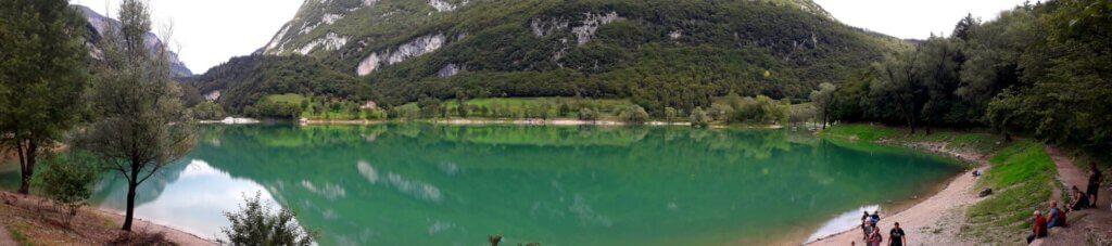 panorama Lago di Tenno