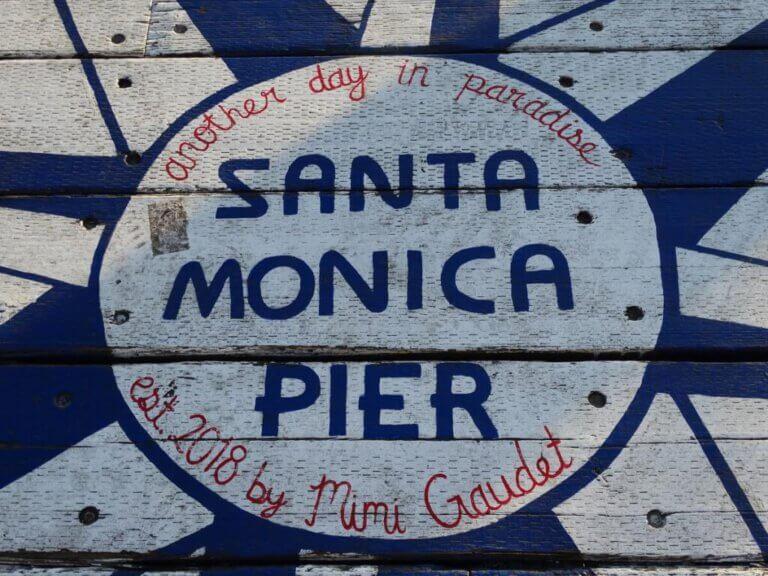 Santa Monica Pier roadtrip Amerika