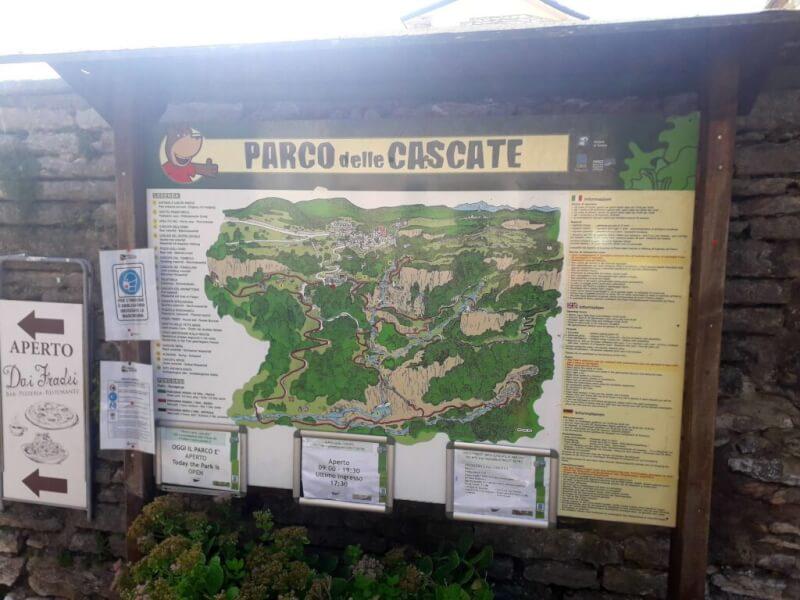 Bord Parco delle Cascate