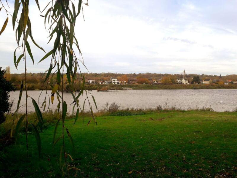 Uitzicht tijdens Mergellandroute