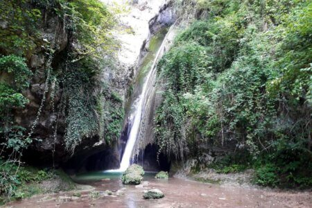 Waterval Parco Delle Cascate di Molina
